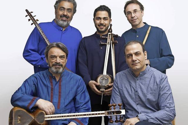 Hossein Alizadeh und Ensembles im Paulussaal Freiburg