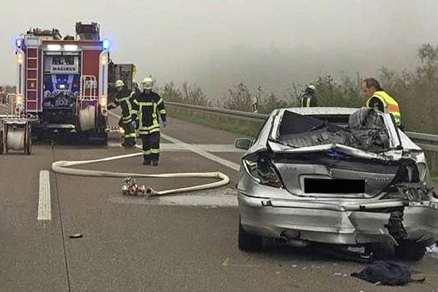 68-Jähriger stirbt bei Unfall