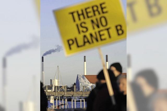Demo für den Klimaschutz