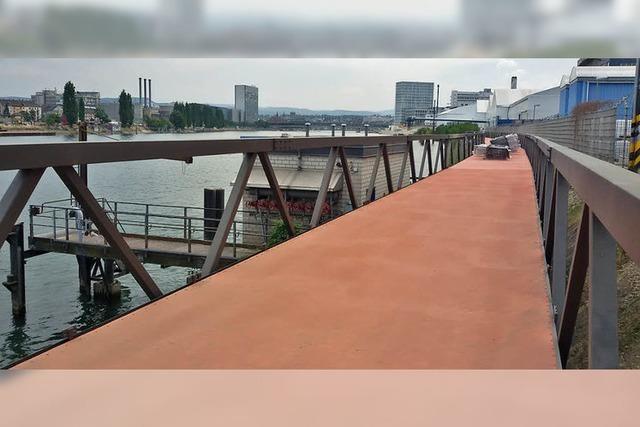 Lückenschluss im Rheinuferrundweg