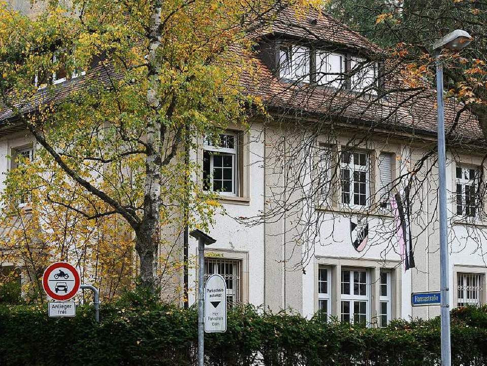 Die Studentenverbindung Neoborussia in Freiburg wurde überfallen.  | Foto: Rita Eggstein
