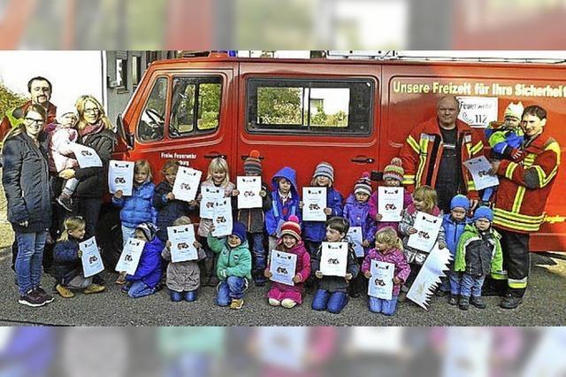 Die Feuerwehr zu Gast