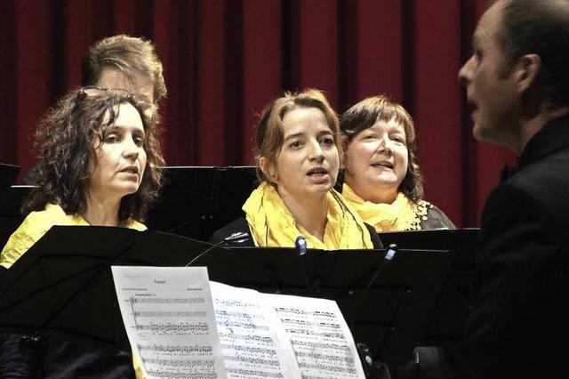 Rammstein-Songs im Chorkonzert