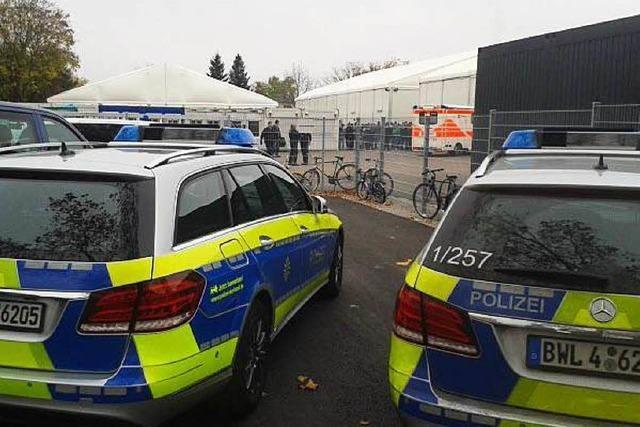 Gruppenschlägerei in Freiburger Erstaufnahmestelle für Flüchtlinge