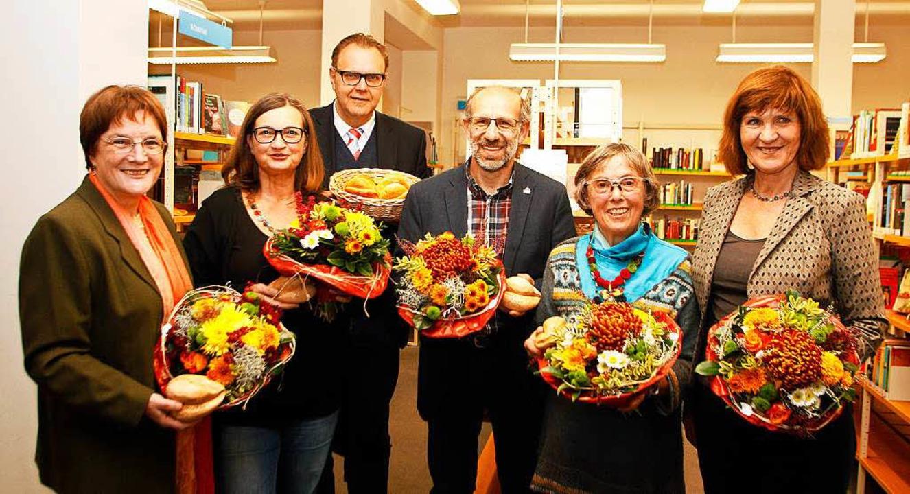 Die Preisträger: (von links) Christa H...harz, Helga Rüdiger, Carola Horstmann.  | Foto: Heidi Foessel
