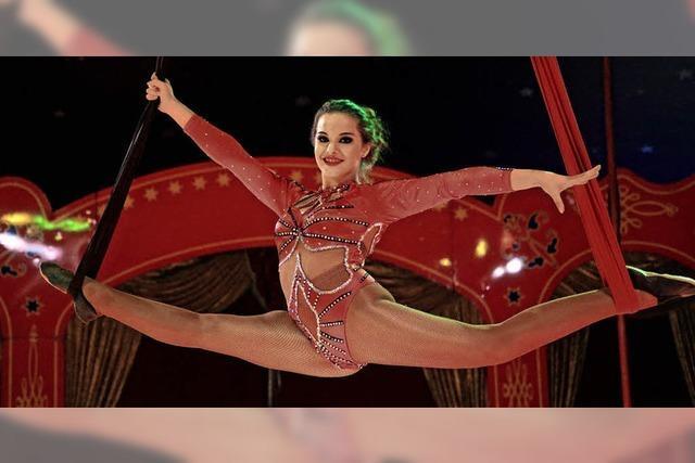 Der Zirkus Montana gastiert in Emmendingen