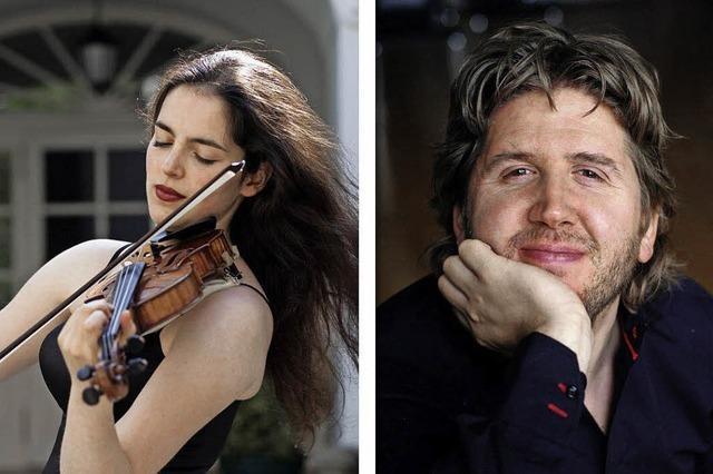 Klassikkonzert für Violine und Klavier im Trompeterschloss in Bad Säckingen