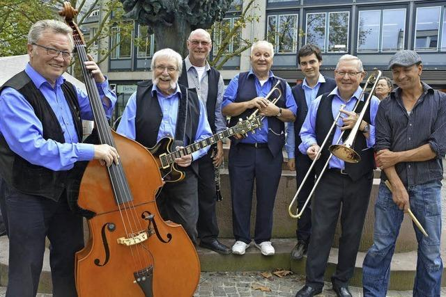 Benefiz mit Dixie, Swing und Blues