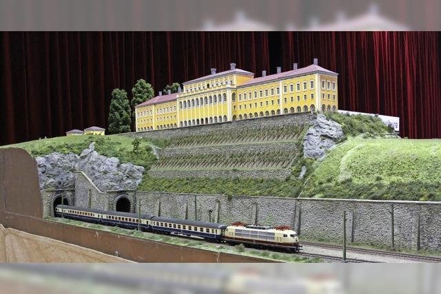 100 Meter lange Model-Anlage in Kirchzarten