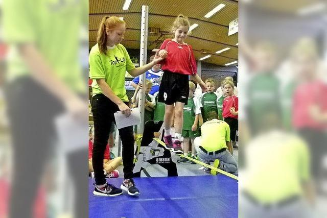 Minis sind im Handball stark vertreten