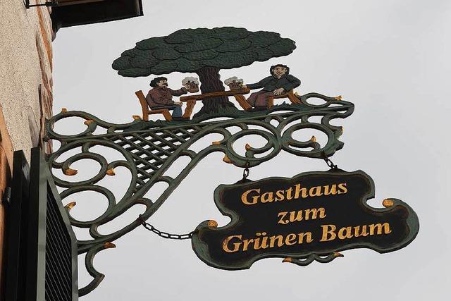 Keine Flüchtlinge im Grünen Baum in Denzlingen
