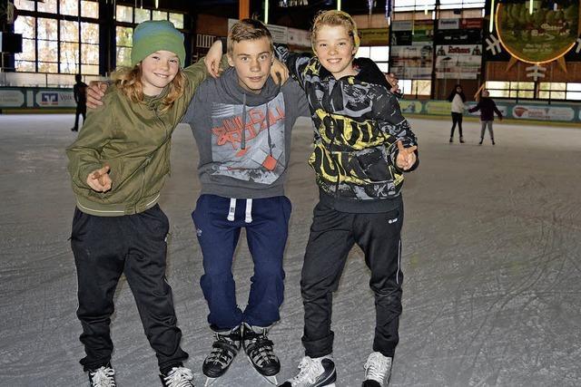 Eislaufsaison hat begonnen - Gemeinde möchte Halle erhalten