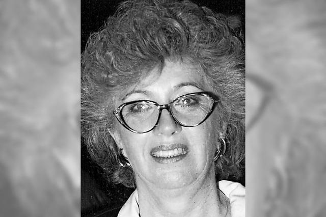 Trauer um Alt-Stadträtin Dorothea Köbele