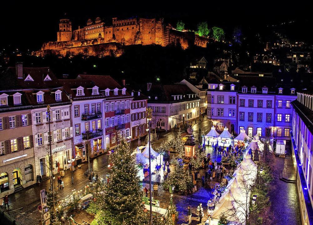 Heidelberg Weihnachtsmarkt.Heidelberger Weihnachtsmarkt Bzcard Leserfahrten Badische Zeitung