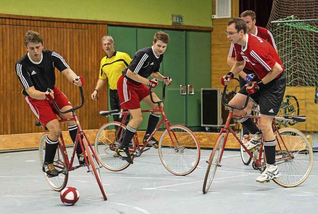 Ein Sieg und zwei Niederlagen war die ...r in der heimischen Steinberghalle.       Foto: Wolfgang Bischoff