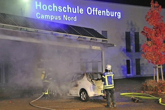 Waren Brandstifter auf dem Campus Nord am Werk?
