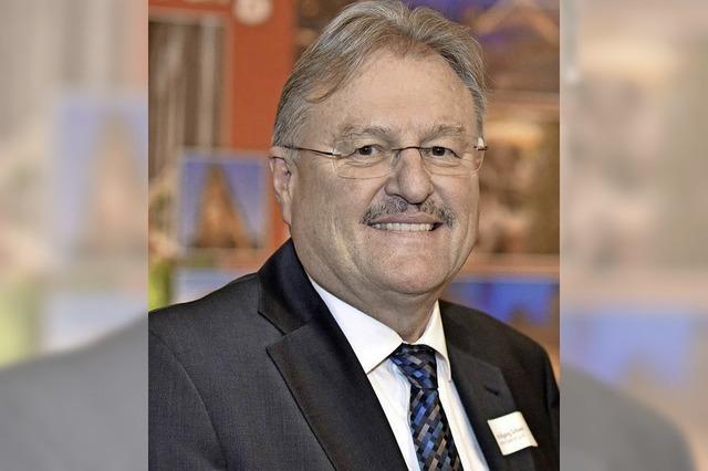 Freiburger Tourismusdirektor Wolfgang Schwehr verabschiedet