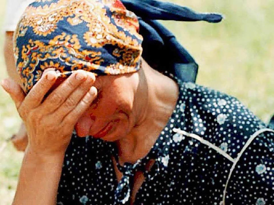 Viele Bosnierinnen, die Opfer der Mass... im Krieg wurden, sind traumatisiert.   | Foto: dpa