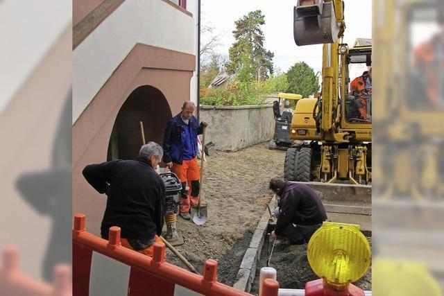 Rohrbruch sorgt für Verkehrsbehinderungen in Bad Bellingen