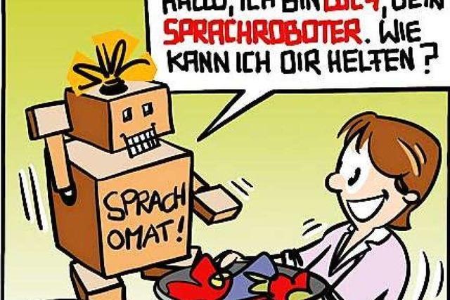 Lucy Backfisch: Sprachroboter