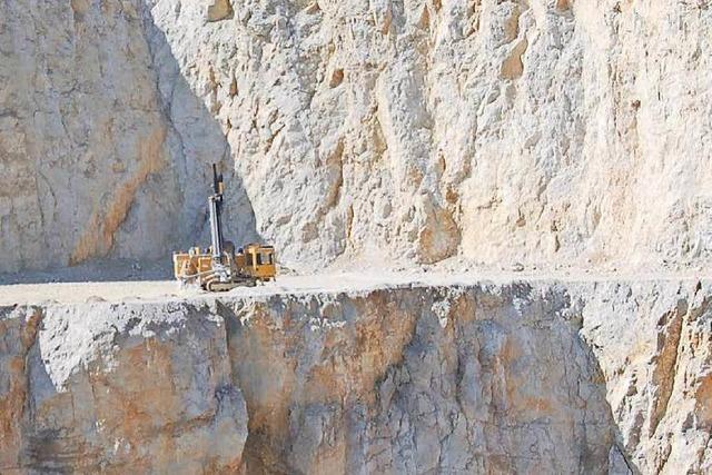 Kalkwerk will Abbauantrag Ende November stellen