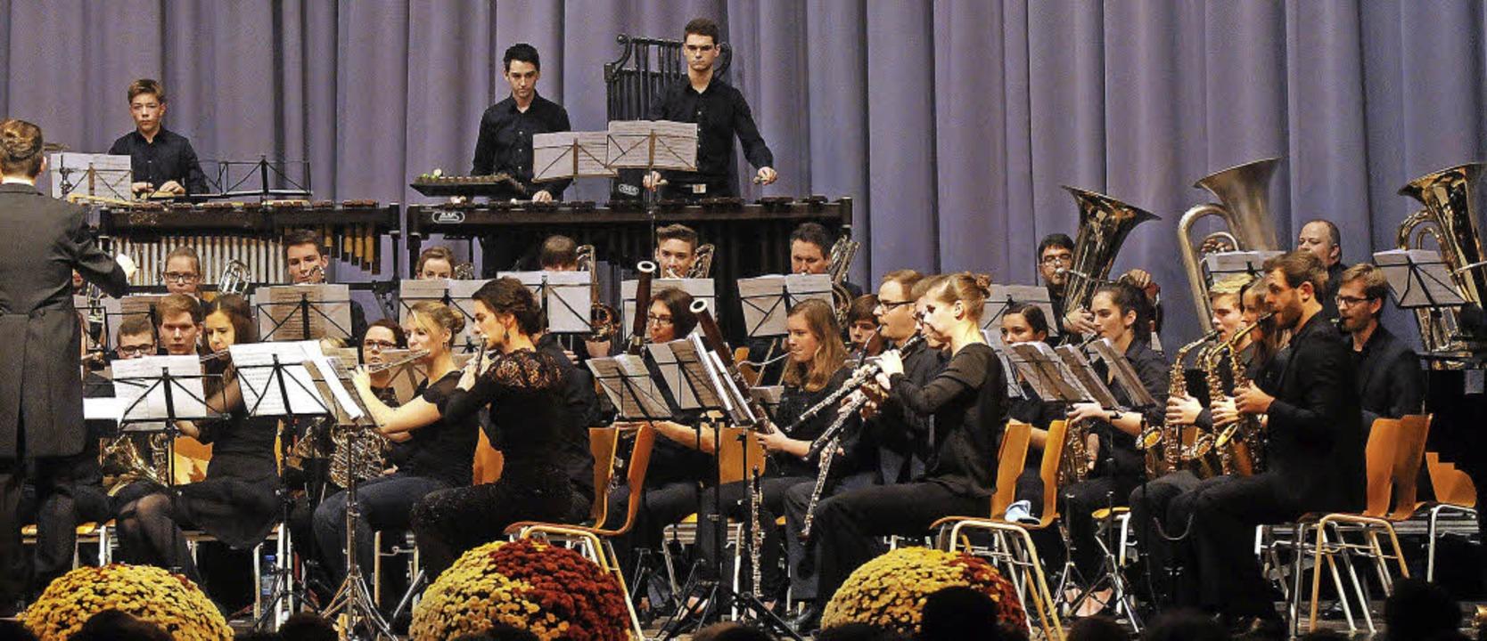 Ein prima Niveau konnte den rund 80 Jungmusikern attestiert werden.   | Foto: wolfgang künstle