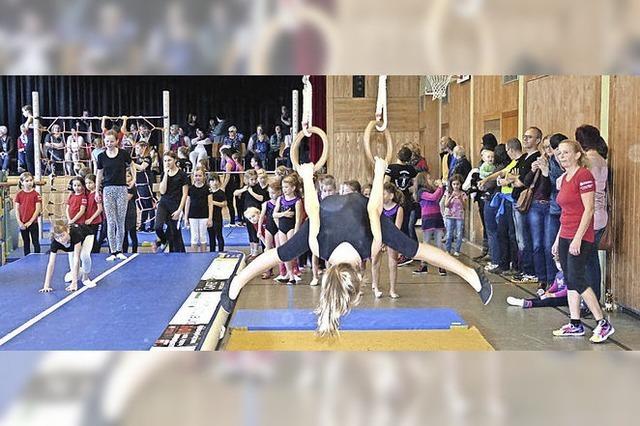 Balance, Saltos und Quicksteps
