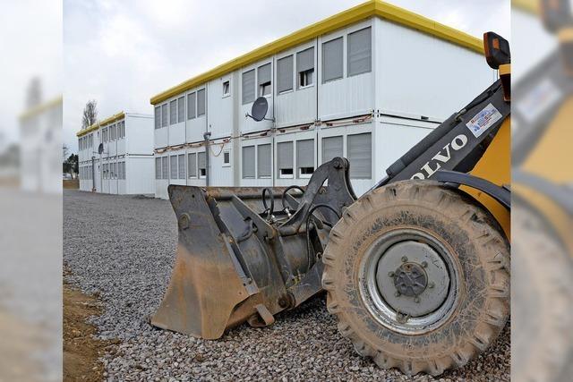 112 weitere Flüchtlinge kommen in Bad Säckinger Container-Unterkunft