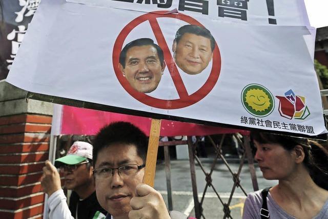 China und Taiwan wollen reden