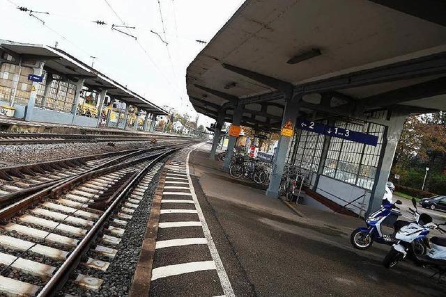 Der Bahnhof von Lahr soll barrierefrei werden