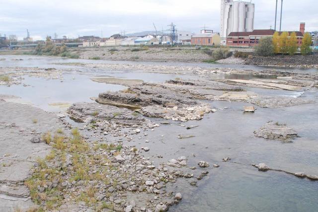 Dem Rhein geht das Wasser aus