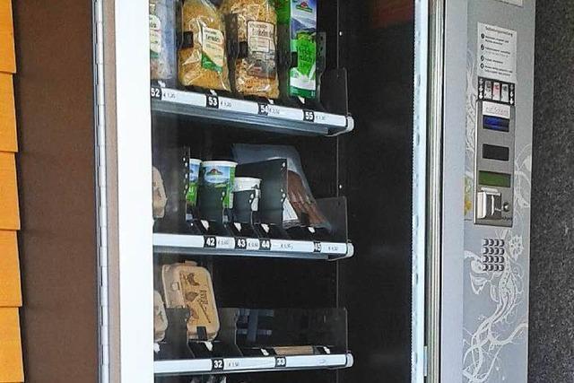 In St. Märgen gibt's Eier, Nudeln und Schoki am Automaten