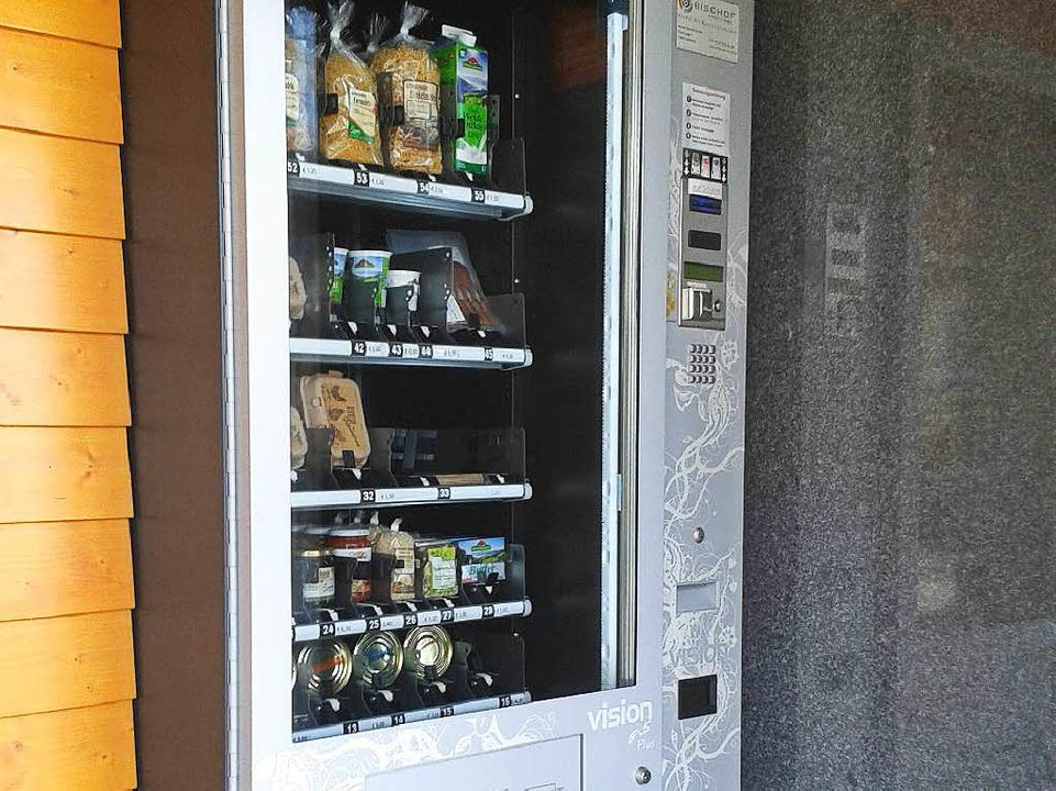 Ein Renner in St. Märgen: der Selbstbe...ebensmittel bei Tännles Kartoffelkiste    Foto: Fabian Kleiser