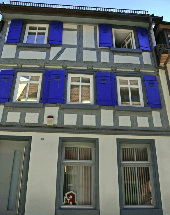 Sütterlins Geburtshaus in der Obertorstraße 1   | Foto: F. LIESCHKE