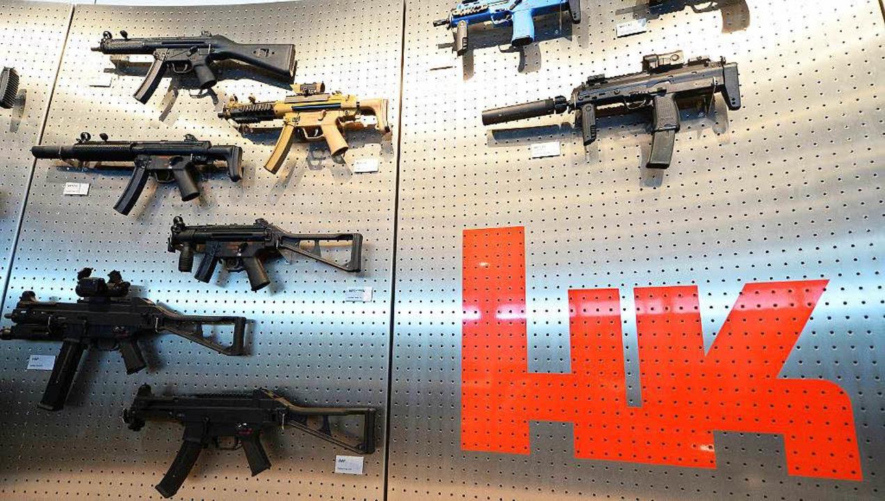 Waffen für jede Gefechtslage     Foto: dpa