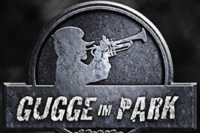 Gugge im Park mit acht Guggenmusiken