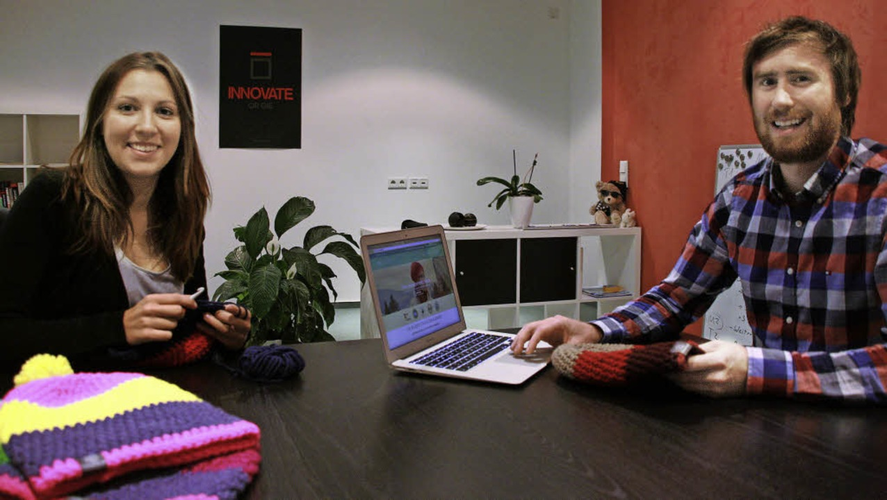 Zwei-Leute-Firma im Nebenberuf: Sarah Schimmel und Rafael Weißmüller.   | Foto: babette Staiger