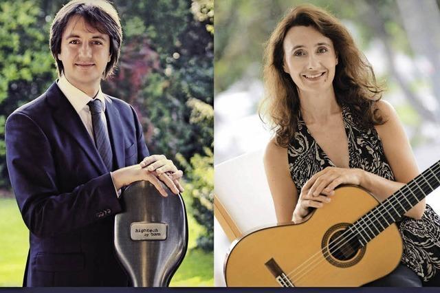 Beata Bedkowska-Huang und Sebastian Uszynski spielen in der Michaelskapelle