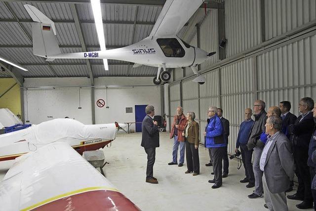 Markgräfler Luftsportverein erhält neue Brandmeldeanlage