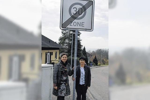 Initiative will größere Tempo-30-Zone in Tiengen