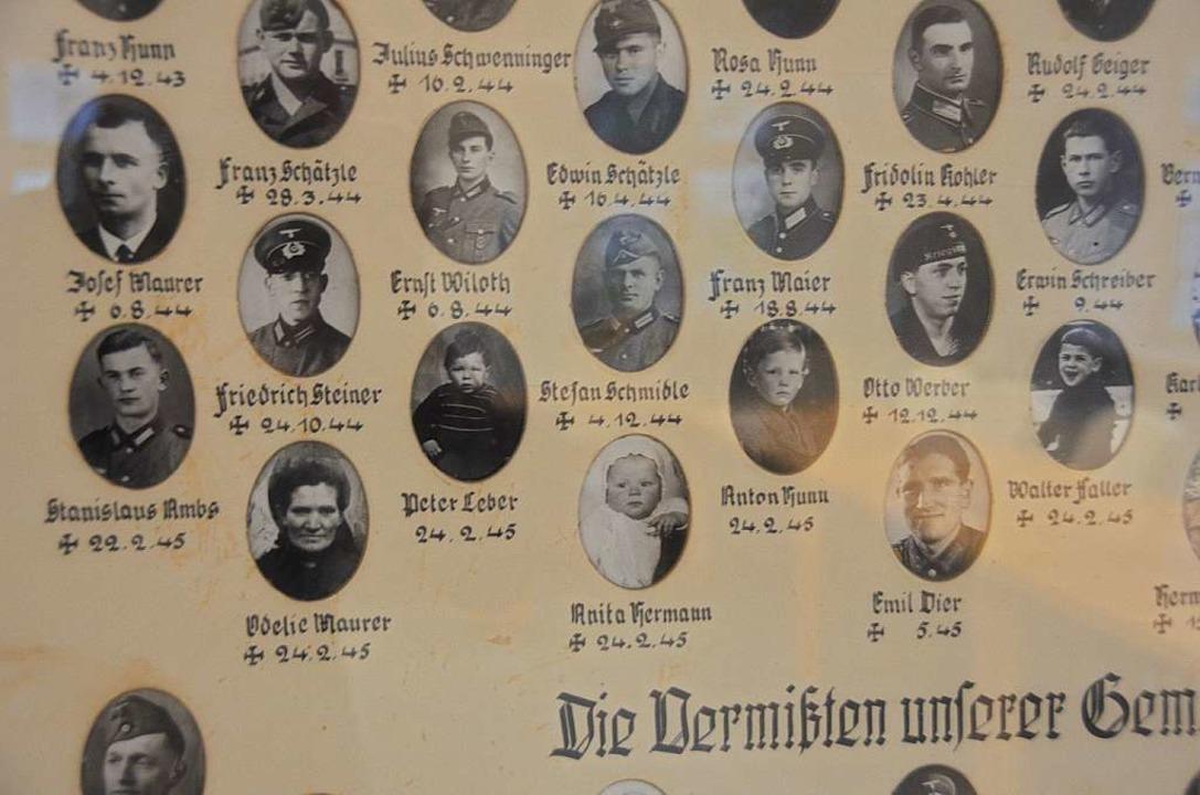 Auch Kinder und Frauen waren unter den...angriff am 24. Februar 1945 ums Leben.  | Foto: Manfred Frietsch