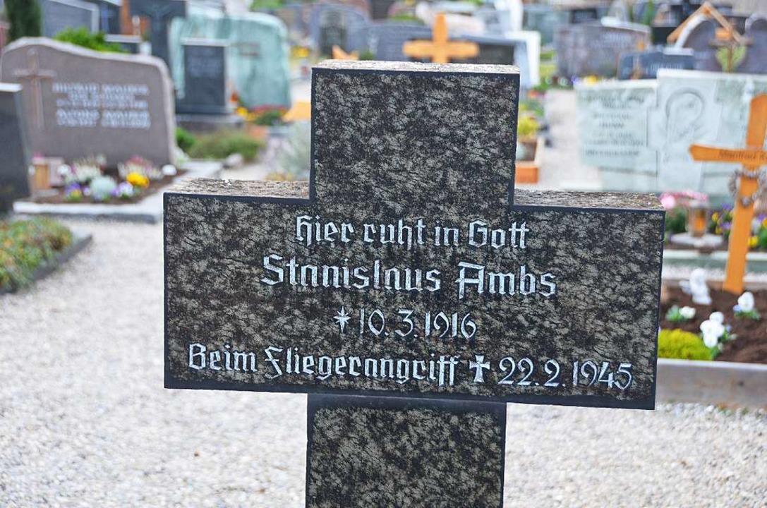 Gedenken an einen Gottenheimer, der be...angriff in Freiburg sein Leben verlor.  | Foto: Manfred Frietsch