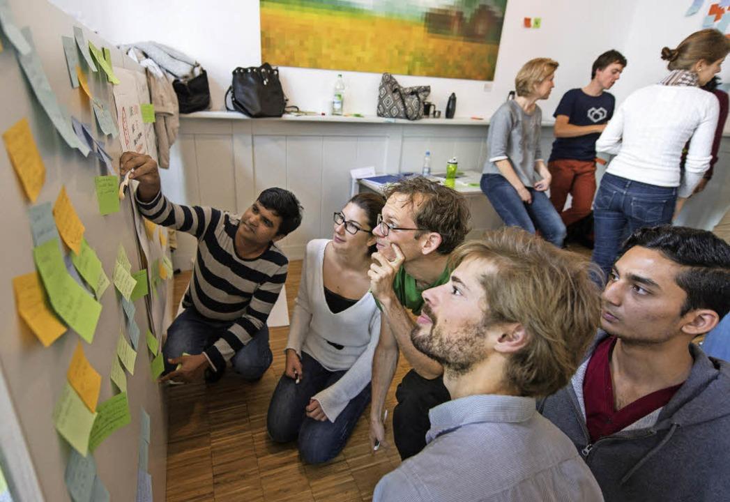 Studierende aus aller Welt analysieren den Klimawandel.   | Foto: P. Seeger