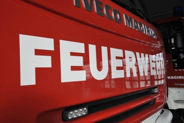 Kurzschluss verursacht Brand in der Altstadt