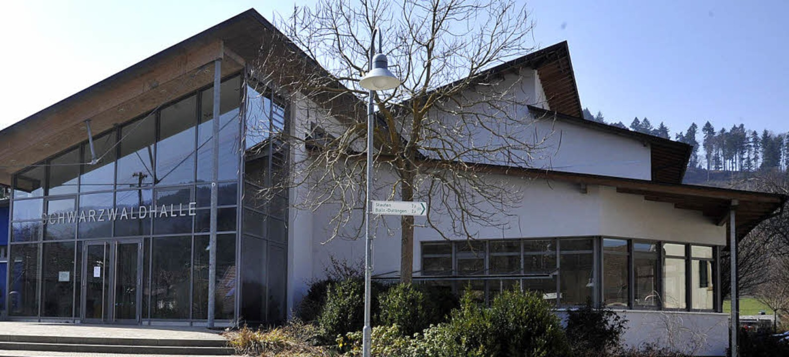 Die Schwarzwaldhalle hat keine optimal...z, ergibt die Energiepotenzialstudie.   | Foto: Volker Münch
