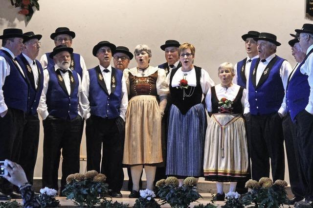 Buntes Sängerfest mit internationalen Gästen