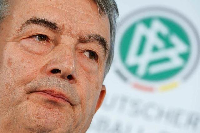 WM-Affäre: Niersbach tritt als DFB-Präsident zurück