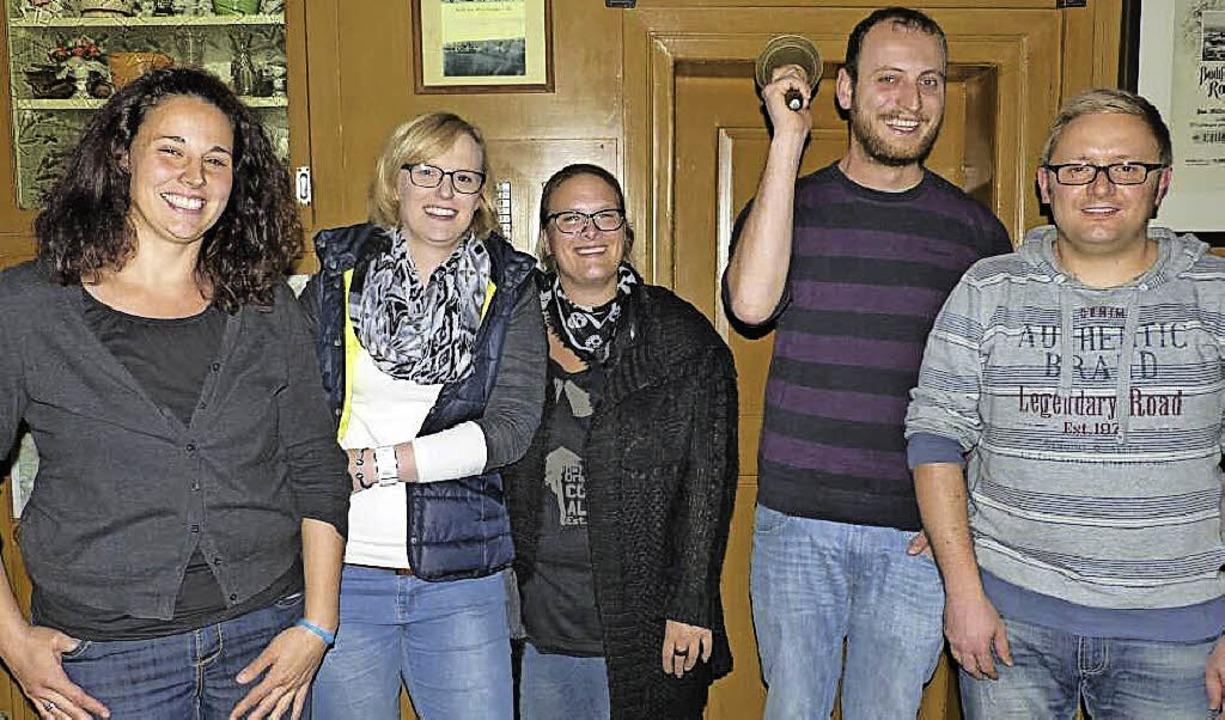 Der Vorstand der Münchinger Geißen: St...orn, Dirk Banholzer, Andreas Scheuble.    Foto: Ilona Seifermann