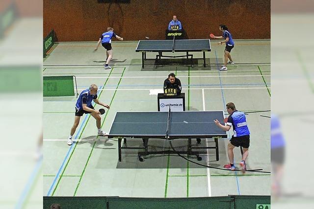 Frust und Jubel in Sekunden - Tischtennisabend in der Stühlinger Stadthalle
