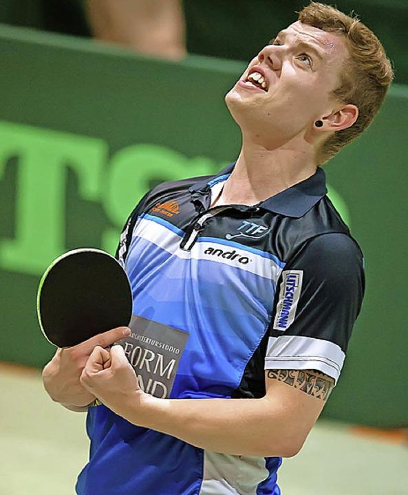 Jens Lasarzick holte den wichtigen achten Punkt.  | Foto: W. Scheu